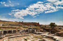 Ruinas en Pamukkale - 4 Imagenes de archivo