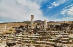 Ruinas en Pamukkale - 3 Imagen de archivo libre de regalías