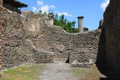 Ruinas en Pompeii Fotografía de archivo