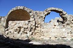 Ruinas en salamis imagen de archivo