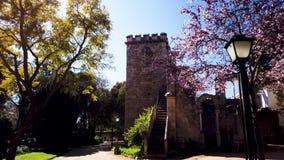 Ruinas falsas en Evora almacen de video