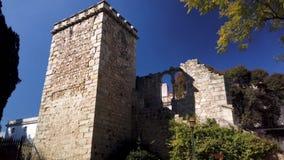 Ruinas falsas en Evora metrajes