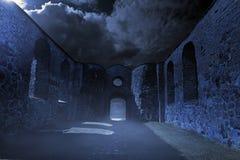 Ruinas fantasmagóricas Fotografía de archivo libre de regalías