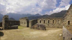 Ruinas inacabadas de Machu Picchu Imagen de archivo