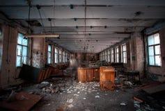 ruinas indoor Imagen de archivo libre de regalías