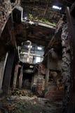 Ruinas industriales Fotografía de archivo libre de regalías
