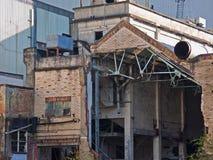 Ruinas industriales Foto de archivo libre de regalías