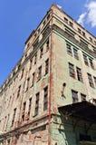 Ruinas industriales abandonadas Fotos de archivo