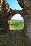 Ruinas inglesas del castillo Imagen de archivo libre de regalías