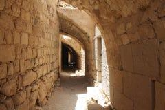 Ruinas interiores Imagen de archivo libre de regalías