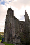 Ruinas magníficas de la abadía de Holyrood Imagen de archivo