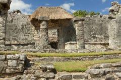 Ruinas mayas. Imagen de archivo