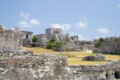 Ruinas mayas Foto de archivo