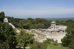 Ruinas mayas antiguas Fotos de archivo