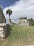 Ruinas mayas de Playa del Carmen México en tulum Fotografía de archivo libre de regalías
