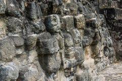 Ruinas mayas de Tikal en Guatemala Imagenes de archivo