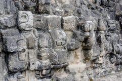 Ruinas mayas de Tikal en Guatemala Foto de archivo libre de regalías
