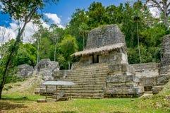 Ruinas mayas de Tikal en Guatemala Imagen de archivo libre de regalías