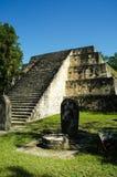 Ruinas mayas en Guatemala Imagen de archivo libre de regalías