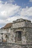 Ruinas mayas en Tulum, México Fotografía de archivo libre de regalías
