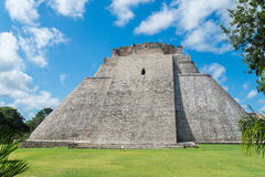 Ruinas mayas en Uxmal Yucatán Fotografía de archivo libre de regalías
