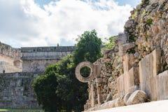 Ruinas mayas en Uxmal Yucatán Fotos de archivo