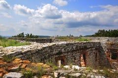 Ruinas medievales Fotografía de archivo