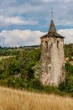 Ruinas medievales Imagen de archivo