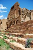 Ruinas medievales viejas de la iglesia Imagen de archivo
