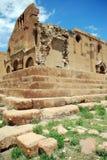 Ruinas medievales viejas de la iglesia Imagenes de archivo