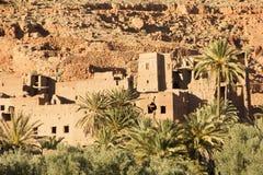 Ruinas misteriosas de Tinghir Fotografía de archivo