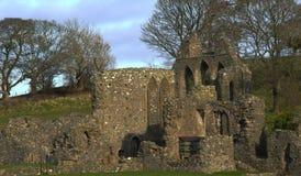 Ruinas monásticas Imagen de archivo