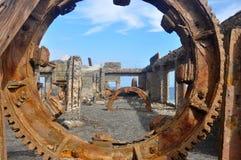 Ruinas oxidadas Imágenes de archivo libres de regalías