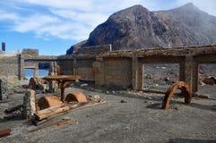 Ruinas oxidadas Fotos de archivo libres de regalías