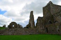Ruinas restantes de la abadía de Hore Foto de archivo