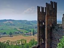 Ruinas románticas Fotografía de archivo libre de regalías