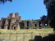 Ruinas romanas de Caracalla Imagenes de archivo