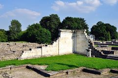 Ruinas romanas en Budapest Fotografía de archivo libre de regalías
