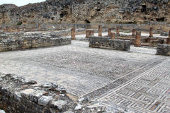 Ruinas romanas en Conimbriga, Portugal fotografía de archivo