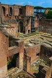 Ruinas romanas en Roma Foto de archivo libre de regalías