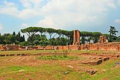 Ruinas romanas en Roma Fotografía de archivo