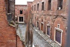 Ruinas romanas en Roma Imagen de archivo libre de regalías