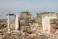 Ruinas romanas - puertas Imágenes de archivo libres de regalías