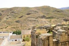 Ruinas romanas viejas en Antequera Fotografía de archivo