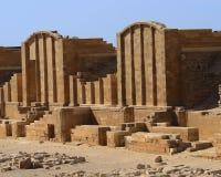 Ruinas, Sakkara, Egipto Fotografía de archivo