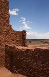Ruinas - un cuarto en Wupatki Fotografía de archivo