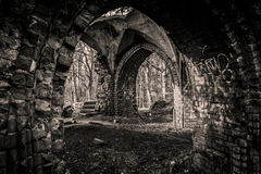Ruinas viejas fotografía de archivo libre de regalías