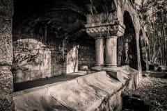 Ruinas viejas Imágenes de archivo libres de regalías