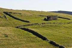Ruinas viejas de la granja Imagen de archivo