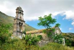 Ruinas viejas de la iglesia Fotografía de archivo libre de regalías